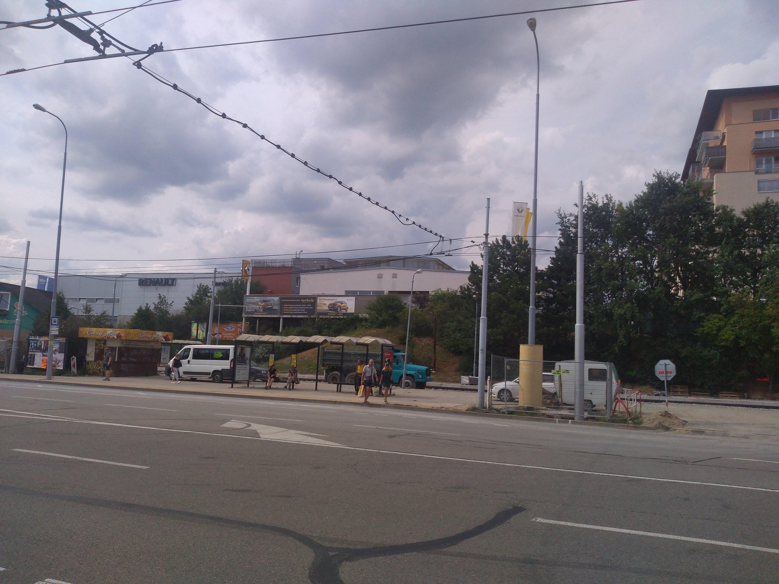 Tato galerie ukazuje spodní část nového úseku. Všechny snímky jsou ve směru ke konečné Jírova.