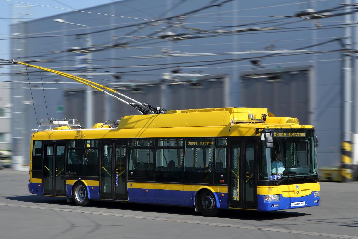 Trolejbus Škoda 30 Tr ve verzi pro Teplice. (foto: Škoda Transportation)