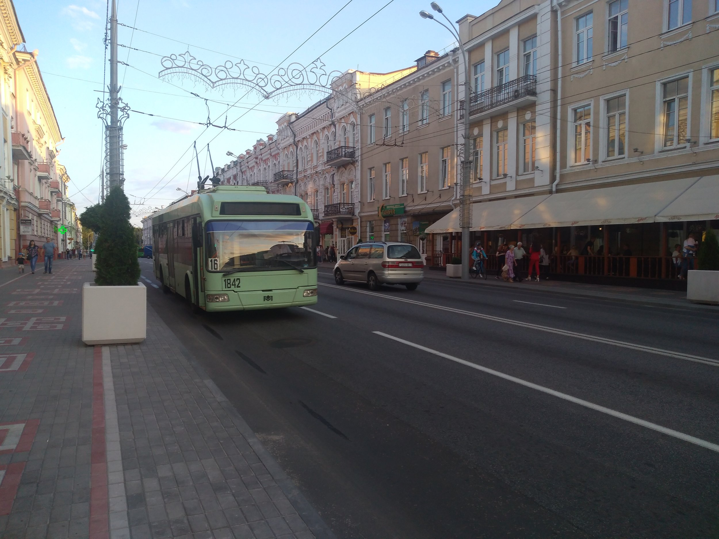 Centrum města (2x).