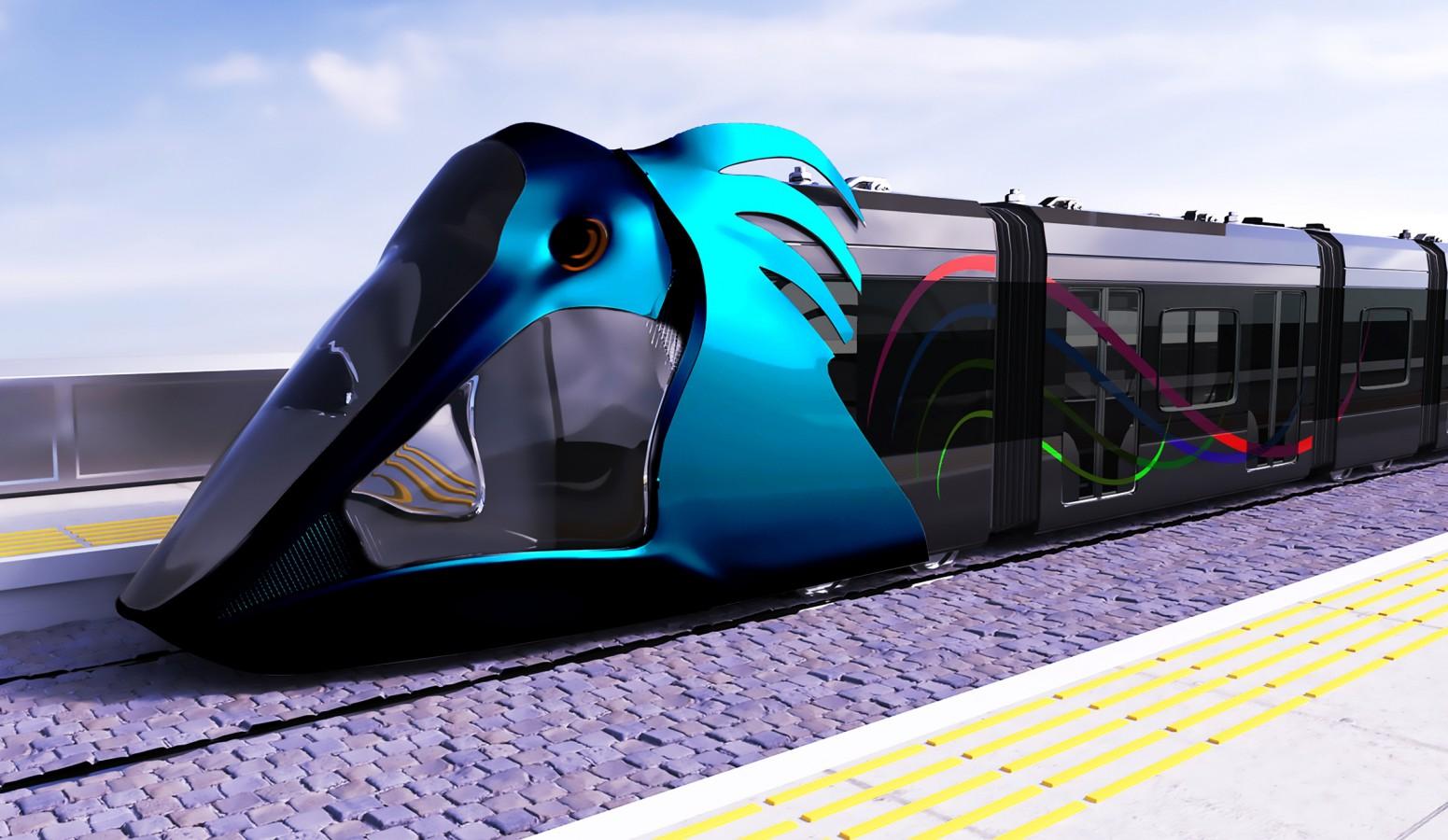 Návrh nového tramvajového provozu. (vizualizace: 3x Şanlıurfa Büyükşehir Belediyesi)