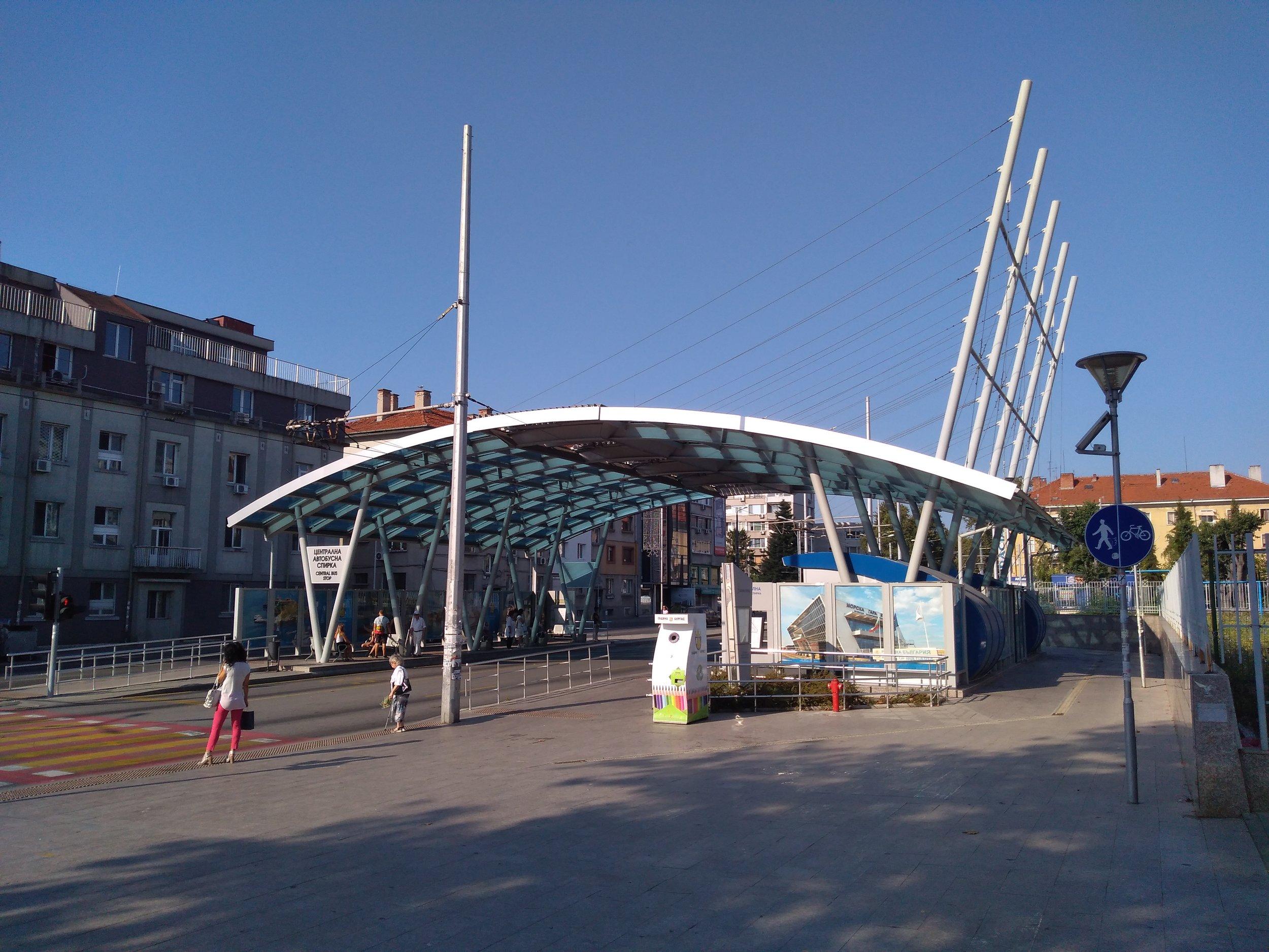 Zastávka Aleksandrovska.