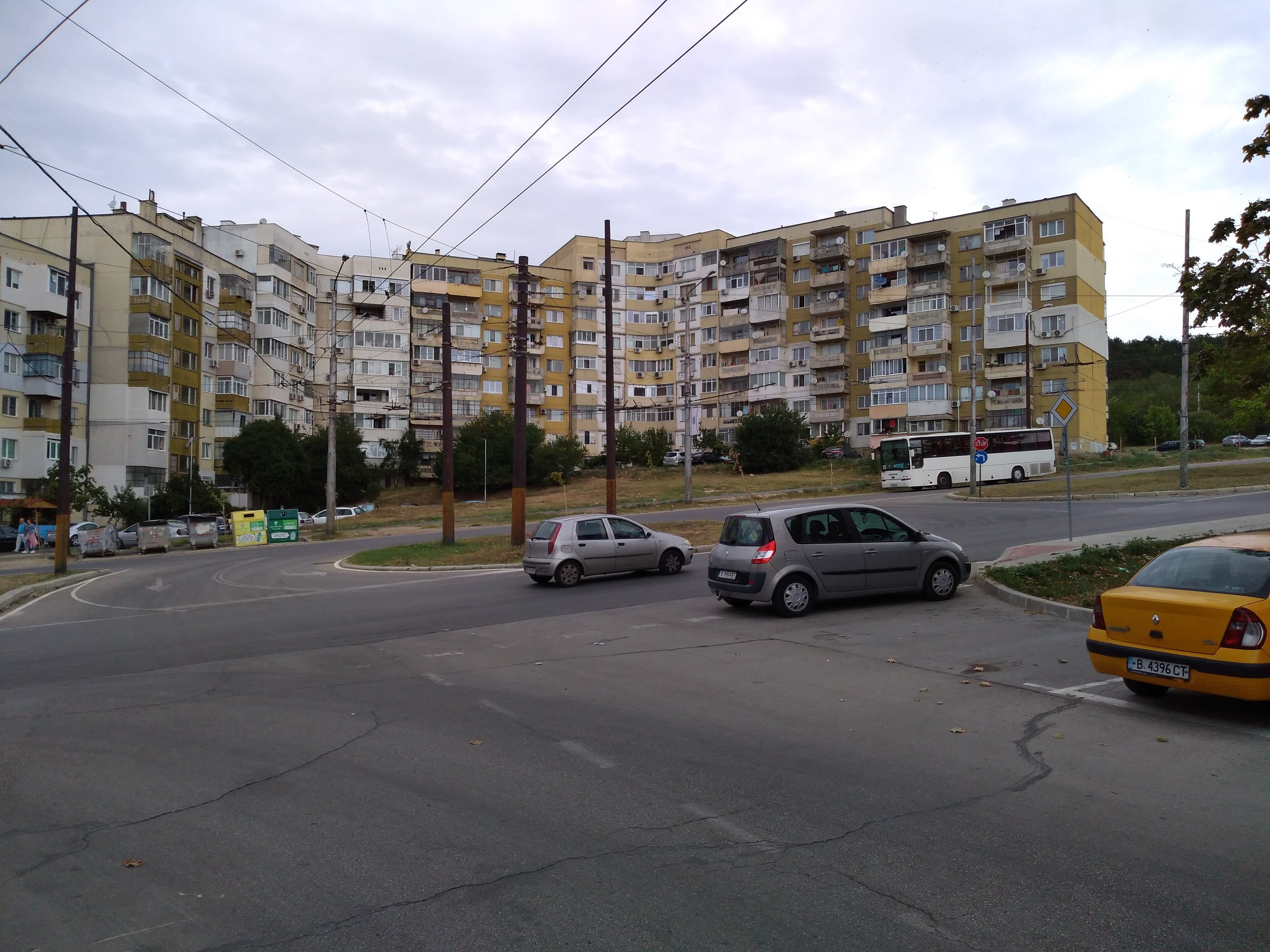Následující snímky ukazují konečnou Vladislavovo s okolním stejnojmenným sídlištěm.