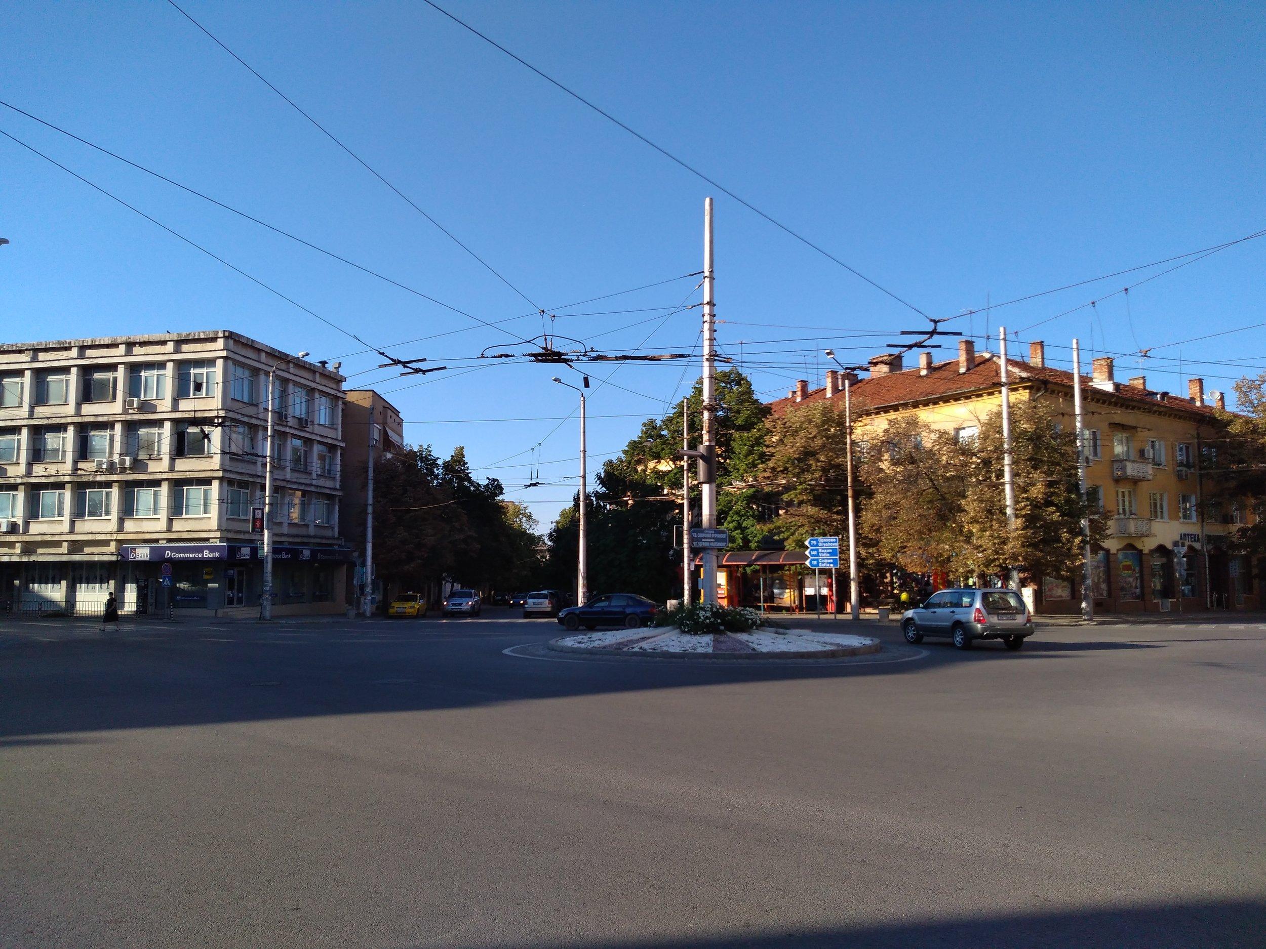 Náměstí Sv. Sofr. Vračanski.