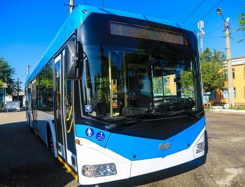 Nový trolejbus. (zdroj: fergana.agency)