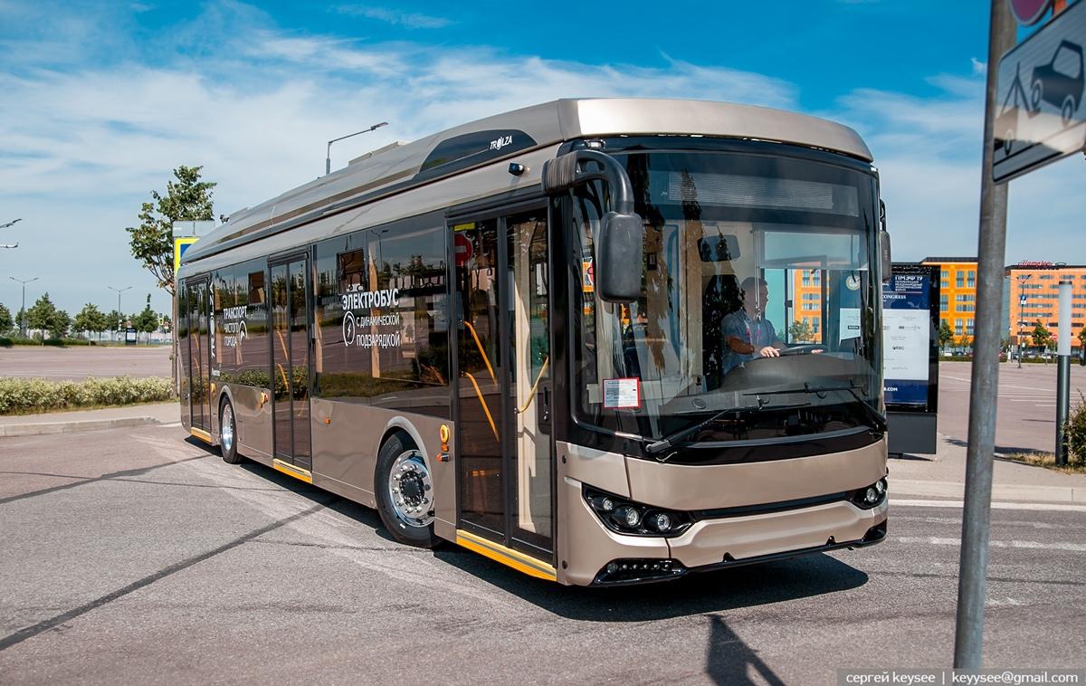 Nejnovější verze Megapolisu se letos představila v Petrohradu v rámci červnového konání dopravního fóra SmartTRANSPORT-2019. (foto: Sergej Keysee/Trolza)