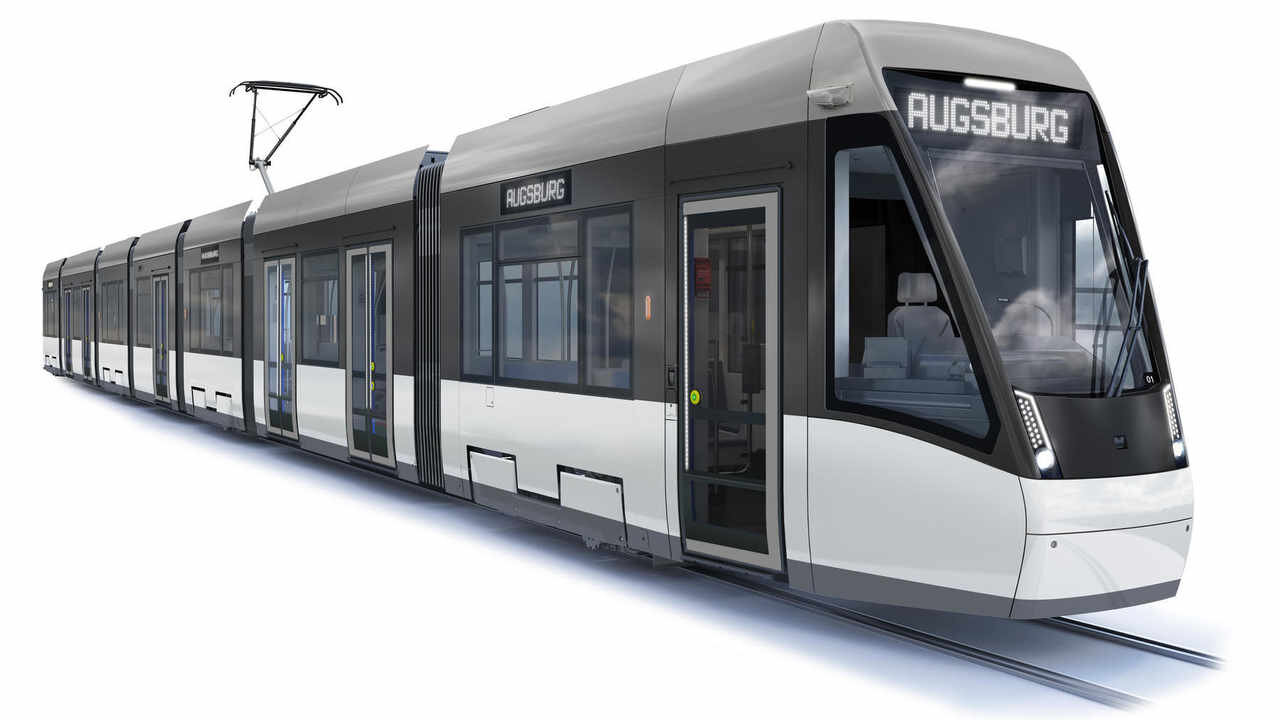 Takto by měl Tramlink pro Augsburg vypadat. (zdroj: Stadler)