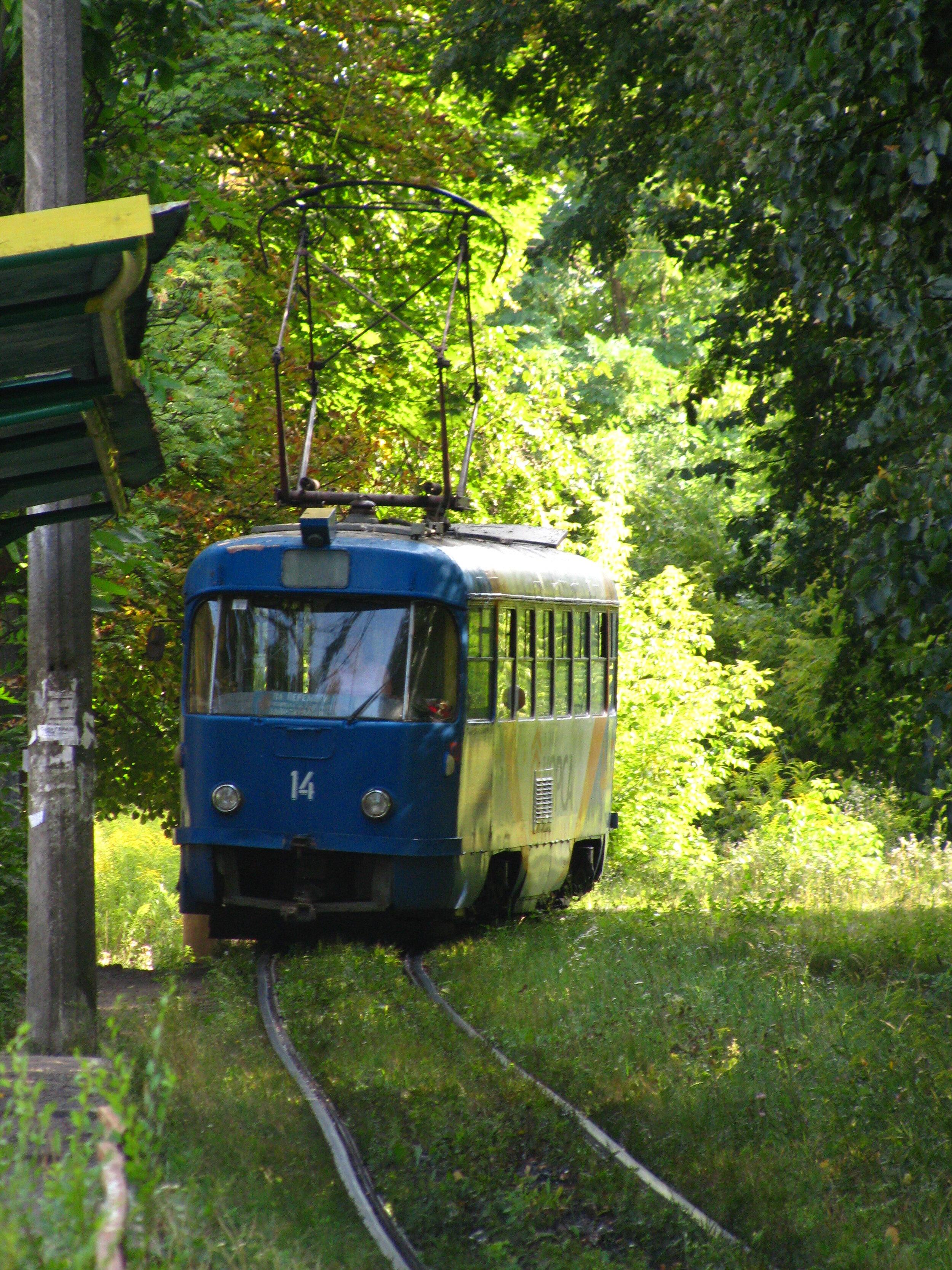 Žytomyrská tramvaj. (foto: Wikipedia)