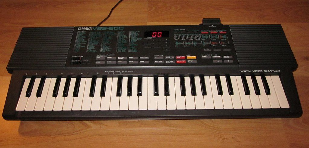 The Yamaha VSS-200, released 1988.