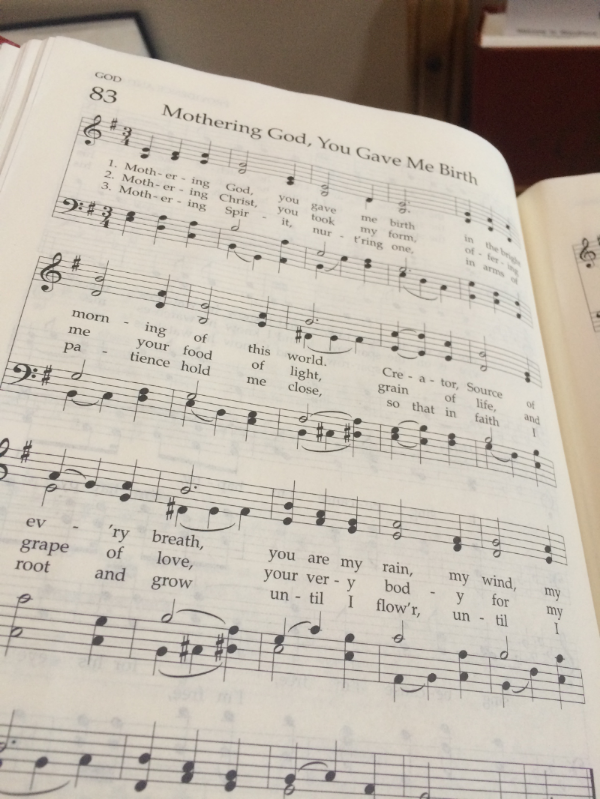 from my church's hymnal