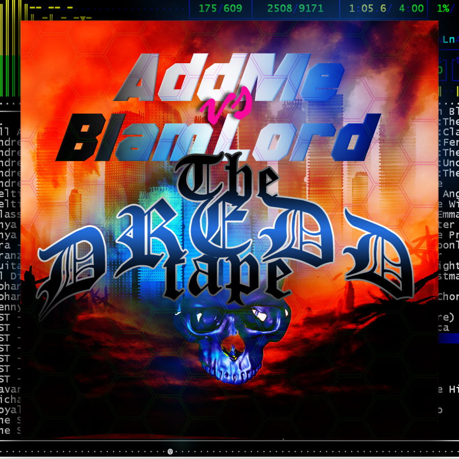 New mixtape! This time a collaboration with Blam Lord, the dungeon master of the  Blam Blam Fever  blog. With Judge Dredd as theme for the mixtape you can expect an industrial dystopian sound, only core and gabber. Not for the faint of heart. First half, just like the artwork, is by me.    Listen!