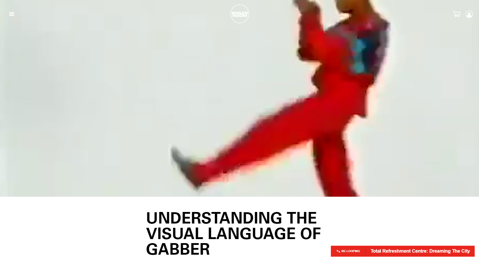 Understanding the visual language of Gabber