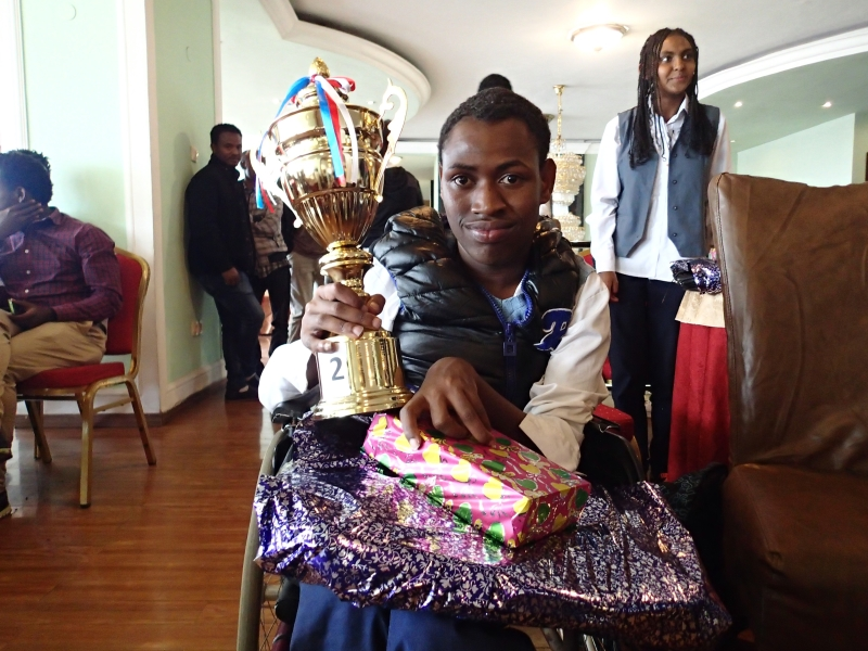 Lemma with the Trophy he Won for SOT.jpg
