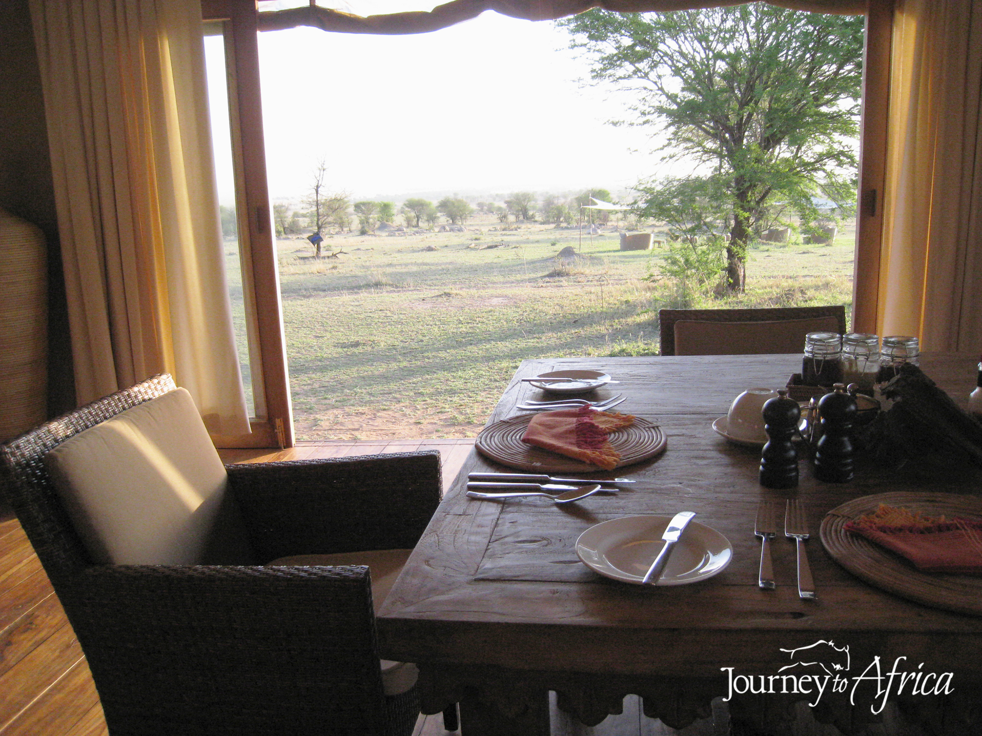 Breakfast on Safari