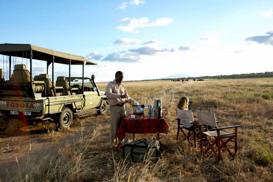 Breakfast on Journey To Africa Safari