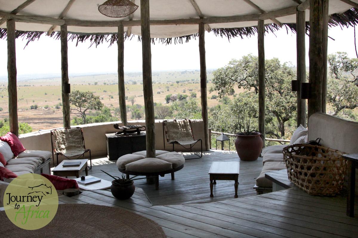 The stunning view of Serengeti from Lamai Serengeti.