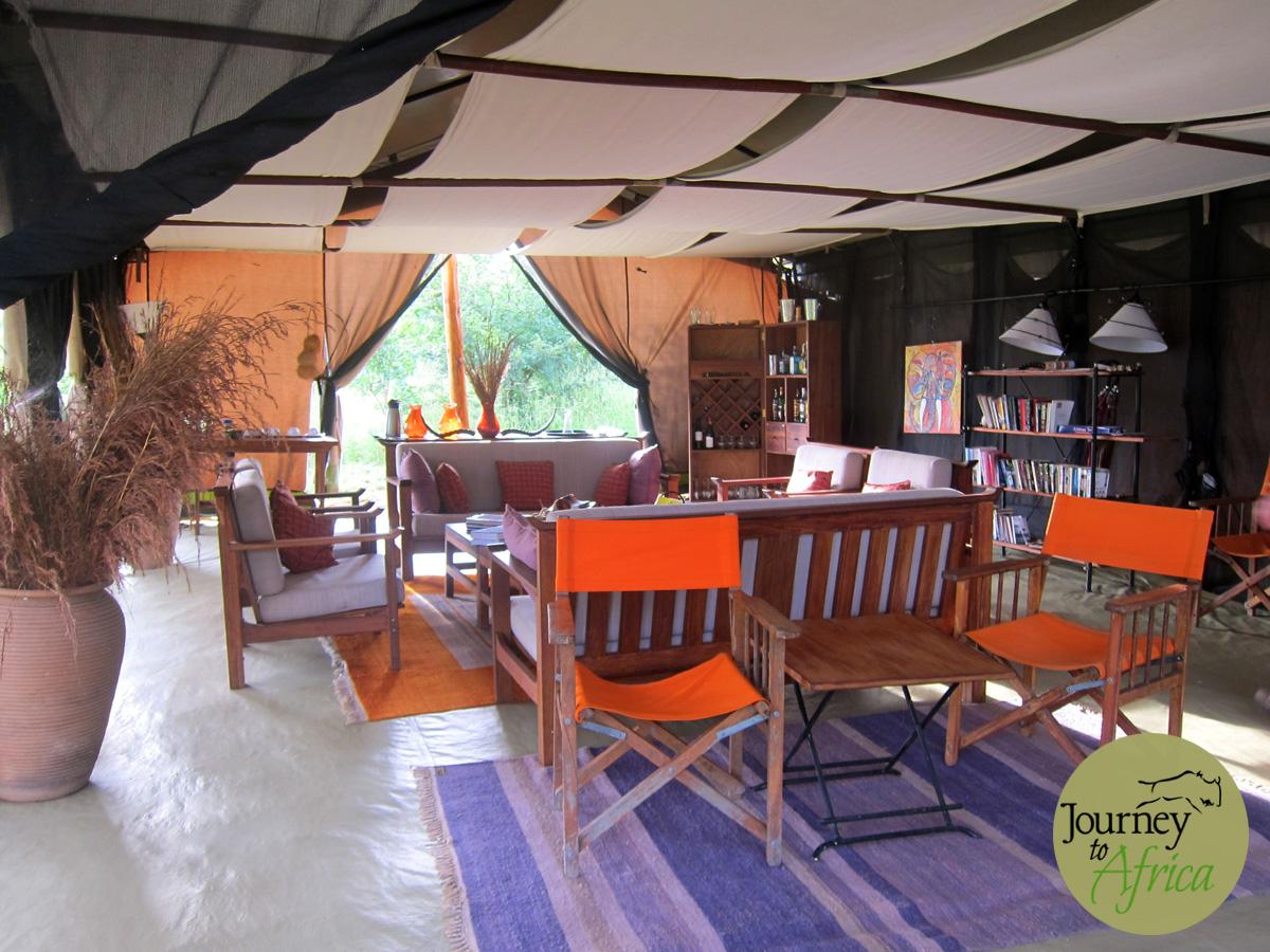 Kwihala Camp in Ruaha National Park