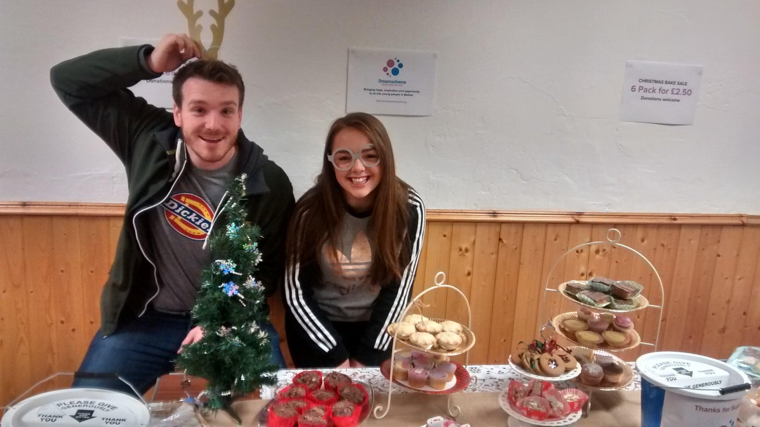 Jonny Luke, our Senior Youth Worker was feeling festive.