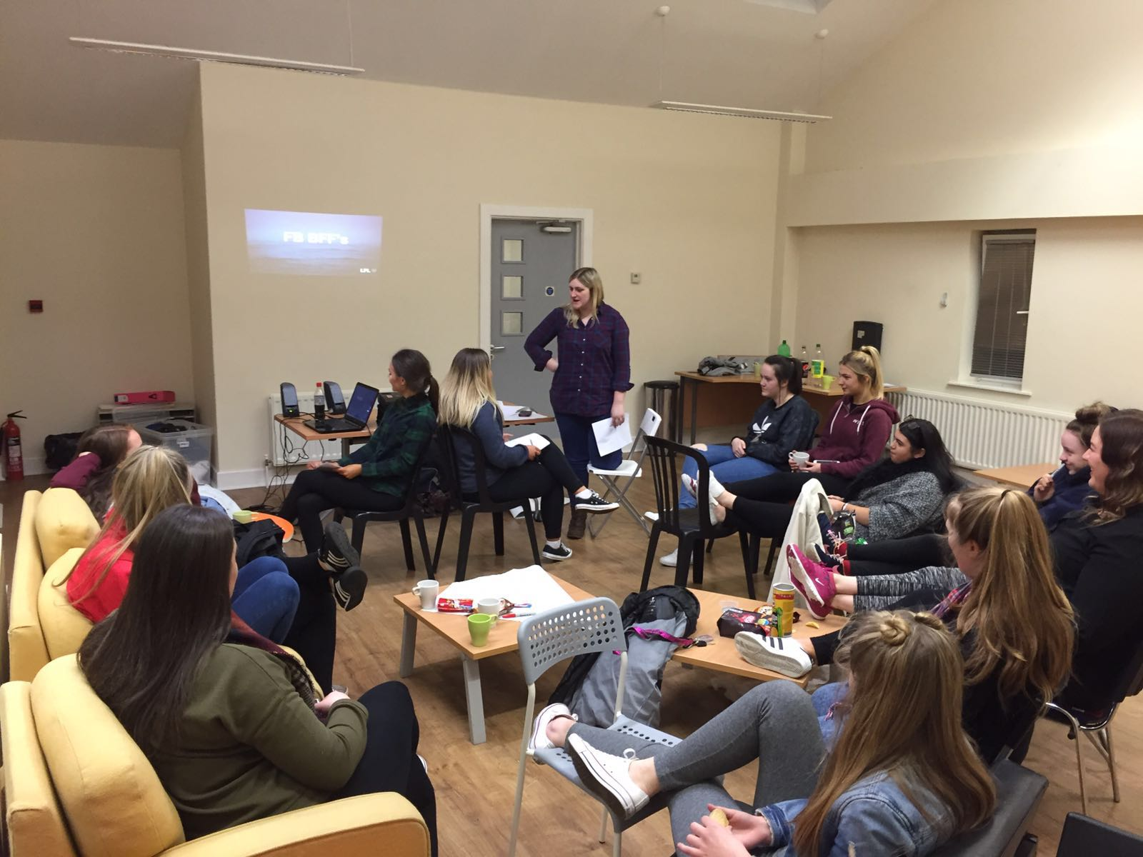 'Beautiful Me' workshop which focused on being a safe and healthy user of social media