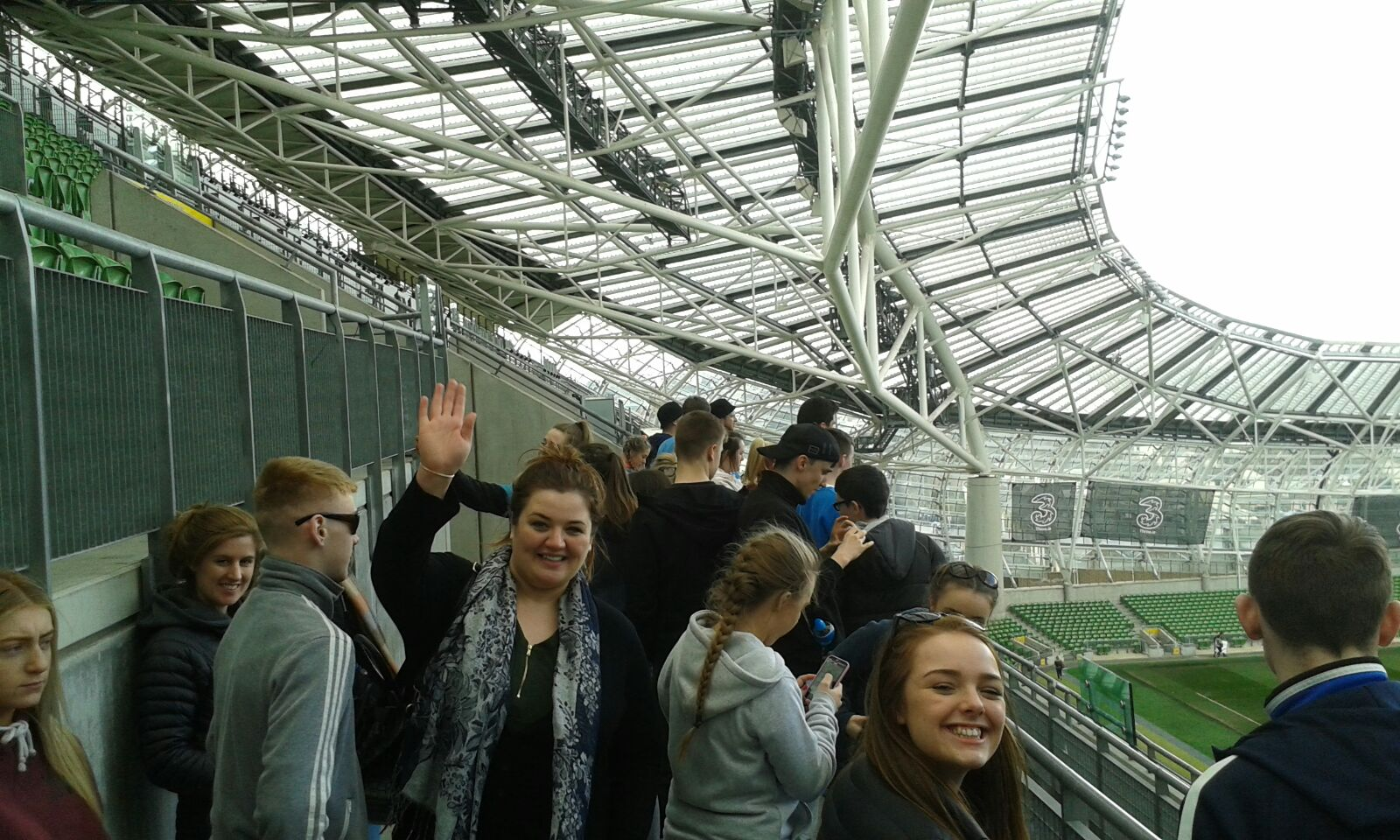 Trip to Aviva Stadium