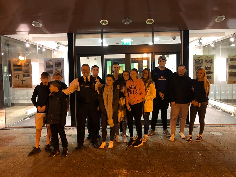 November  - Don't worry, they haven't been arrested! Our Belvoir/Milltown group get an exclusive behind the scenes tour of Musgrave Police Station in Belfast