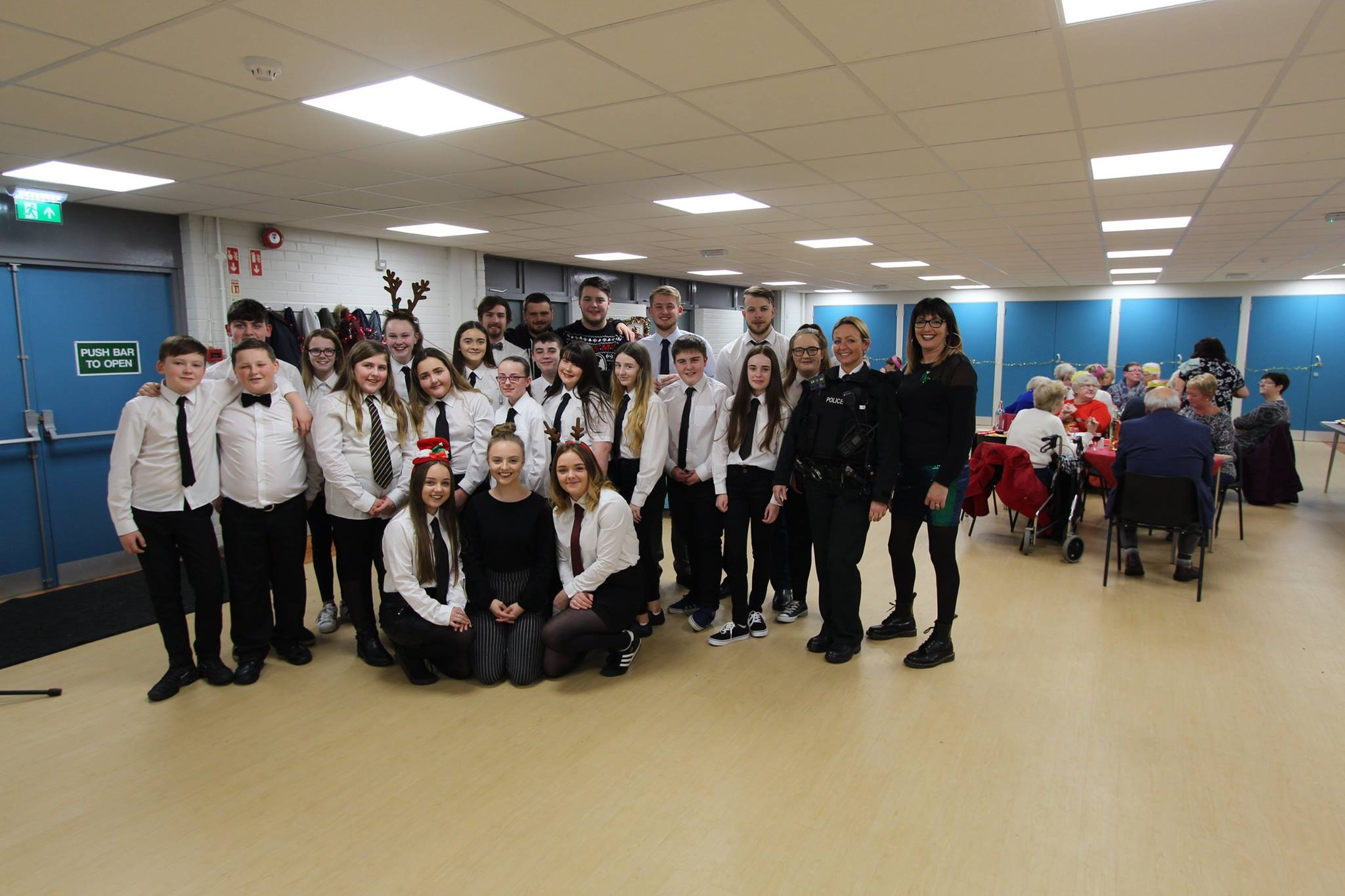 December  - Once again our Braniel group were suited and booted for our annual intergenerational Christmas dinner! This proved a hit again with those who attended. Same time next year?