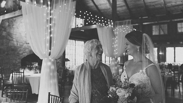 There is nothing more special than sharing your day with your Oma ❤️ Saskia & Oma before the ceremony. #fnpwedding #fnpweddings #frederickwedding #weddingfilm #kjrstudio