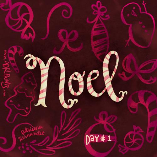 Day #1 of the Finch & Foxglove Advent Calendar
