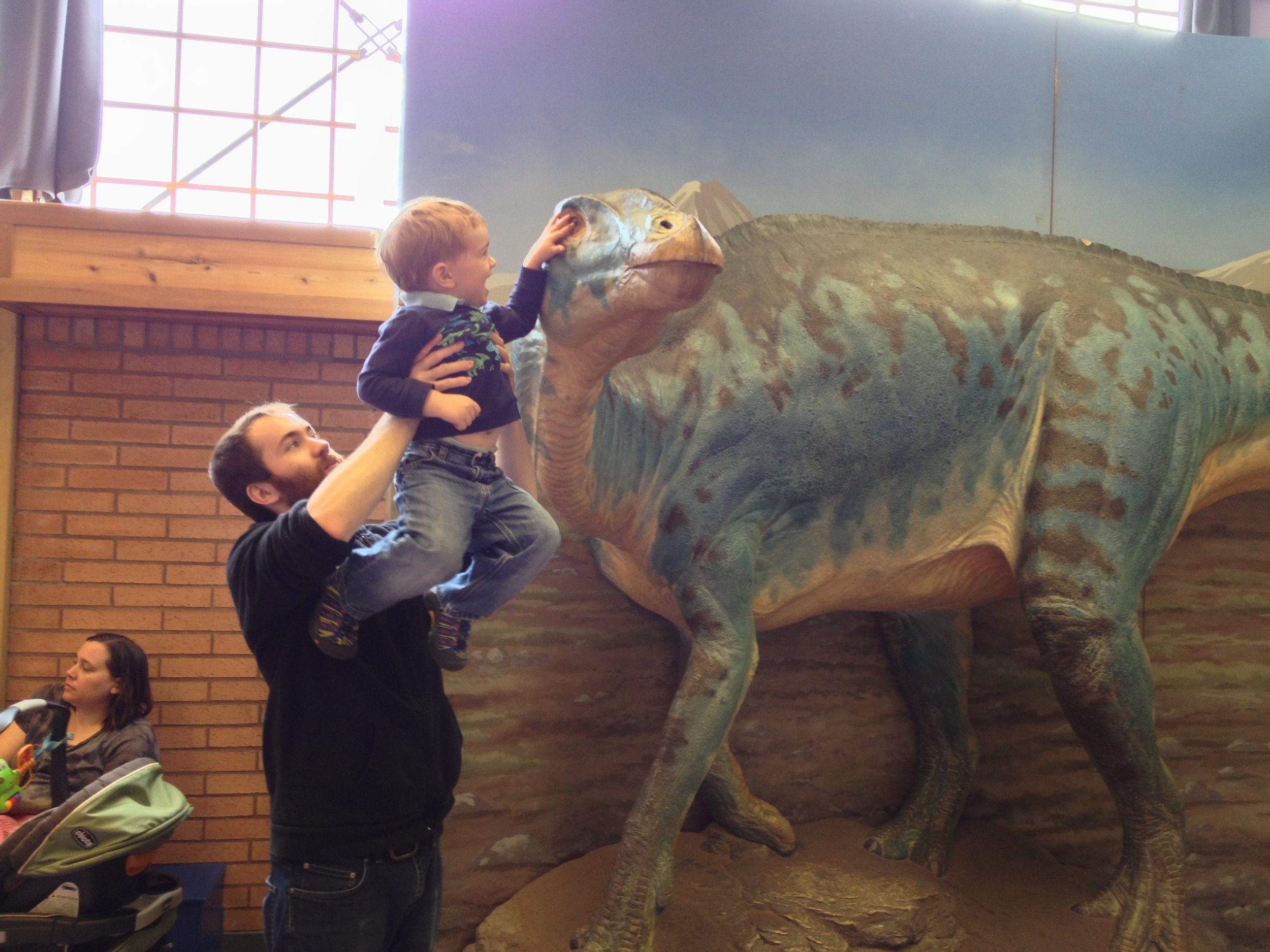 from a trip to visit my brother in Portland back in 2013...the Children's museum had a fabulous dino exhibit!