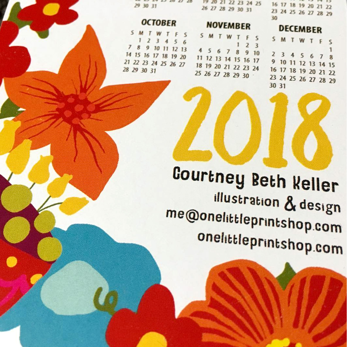 Courtney Beth has something beautiful to accompany you through the year 2018!