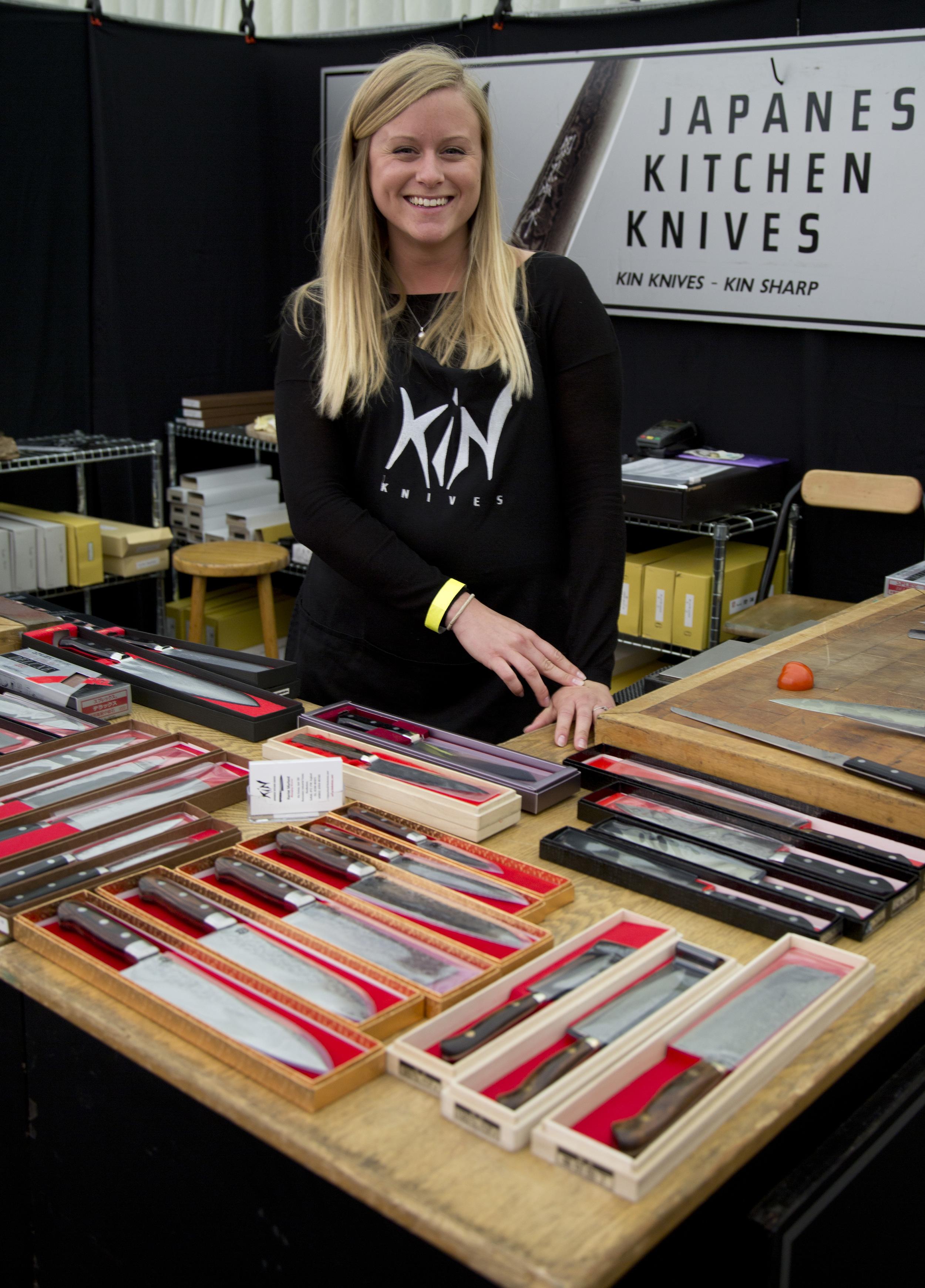 © Domenic Pendino: Kin Japanese Kitchen Knives