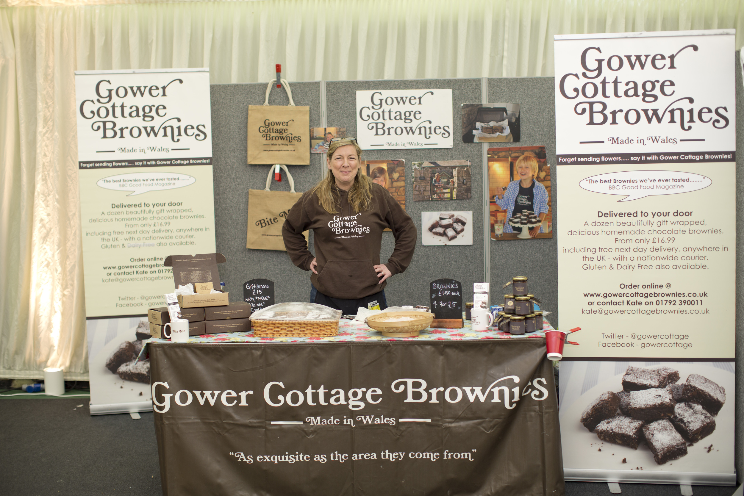 © Domenic Pendino: Gower Cottage Brownies