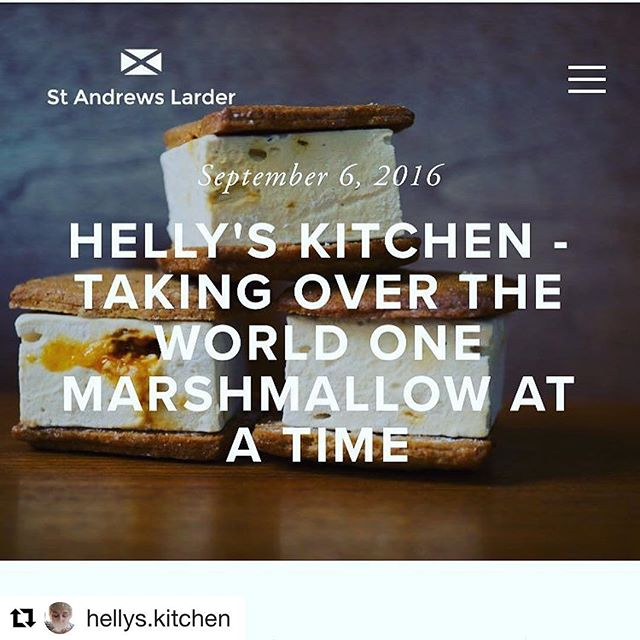 Now live on the blog. Read all about Helly's story, marshmallow extraordinaire and founder of @hellys.kitchen #smores #marshmallows #patisserie #pastrychef #startupseries