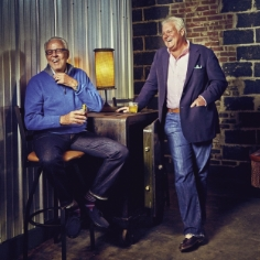"George Ackerman (right) pictured in Charleston Magazine - ""Two chief execs in the global fashion industry chose Charleston as their home..."""
