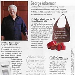 George Ackerman in Charleston Magazine describes 79 Ashley's Ms. Mythical and gives his two cents on style and fashion.