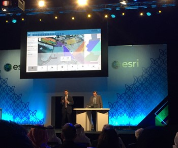 GeoDecisions developed Abu Dhabi Urban Planning Council applications featured during Esri MENA UC plenary.