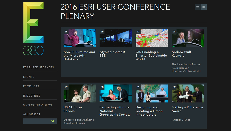 Esri_UC_Plenary_Videos