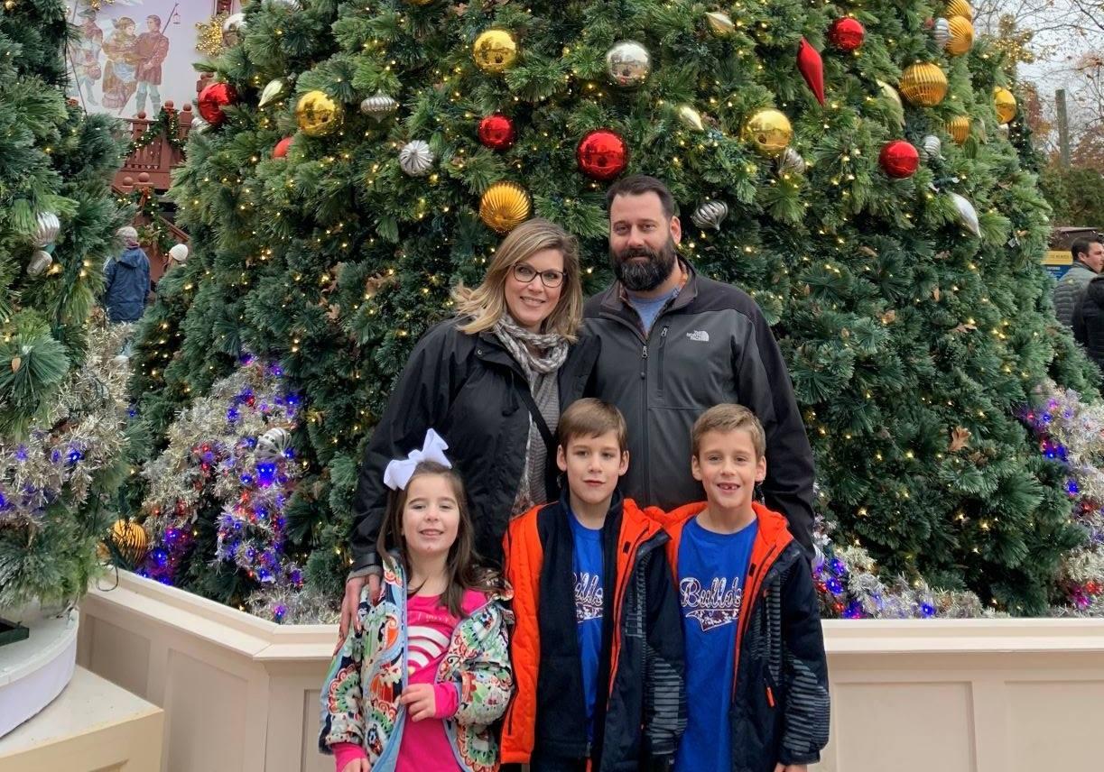 Christmas Town at Busch Gardens