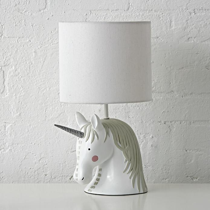 Unicorns are rare beauties but you can have one of your very own, in lamp form.