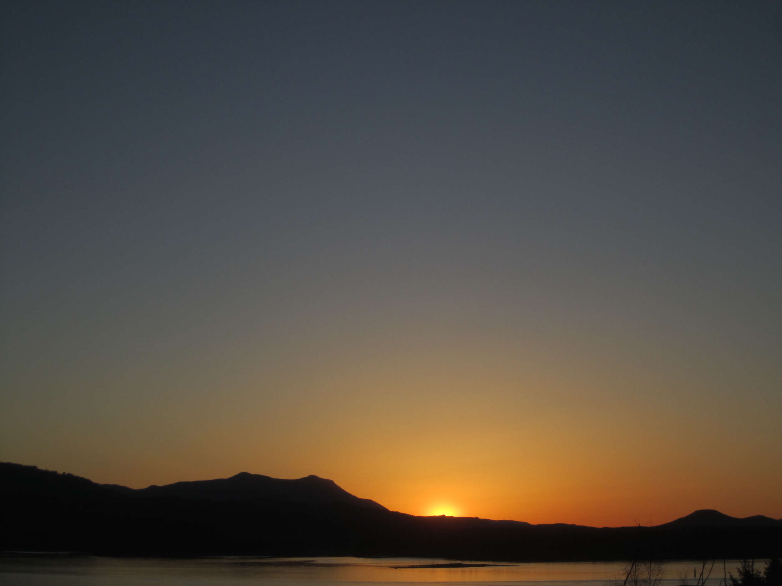 Sunset in Alert Bay, BC. Photo by Vincent Dumoulin.