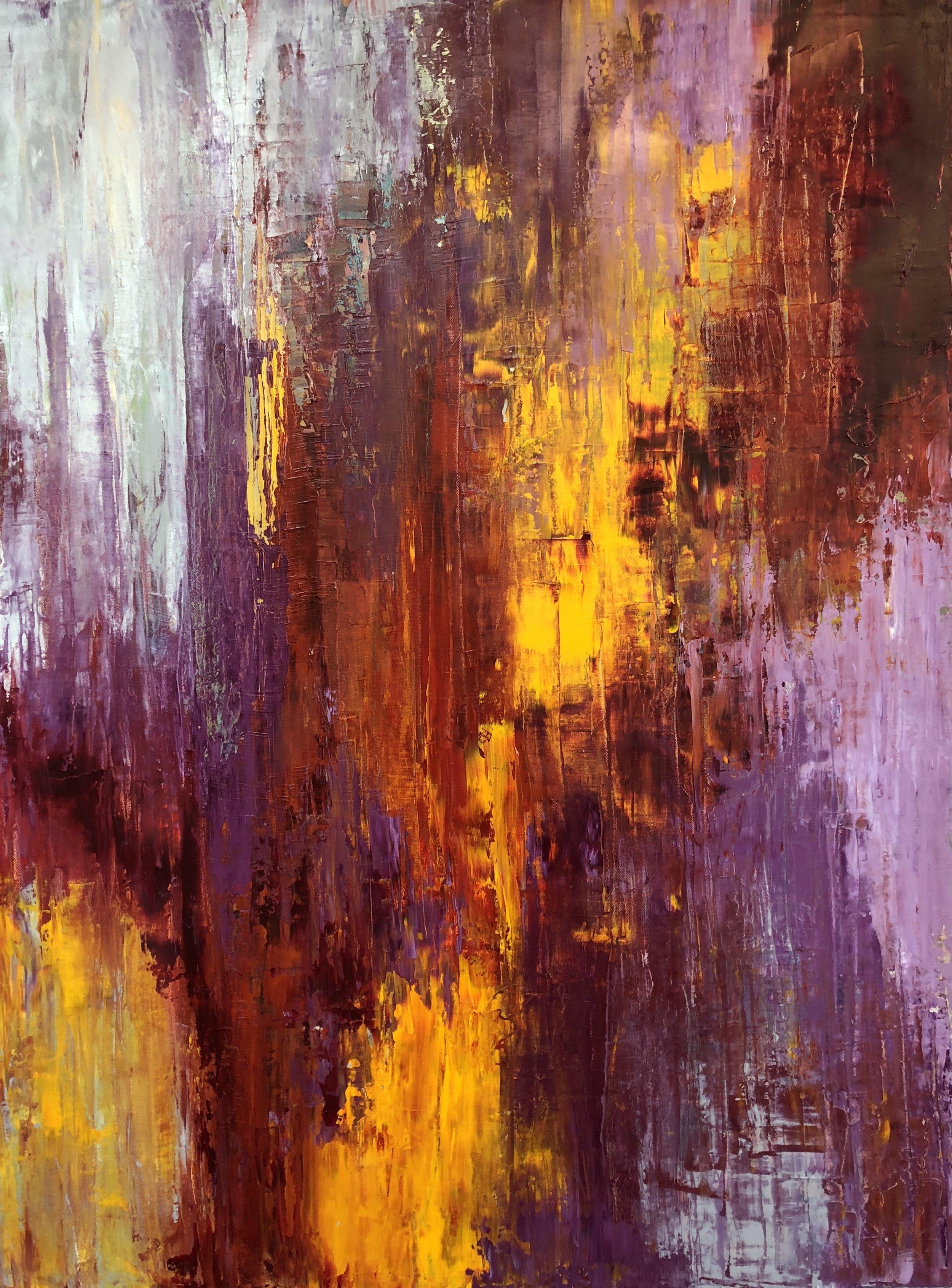 """Fierce, oil on canvas, 40""""x30"""" SOLD"""