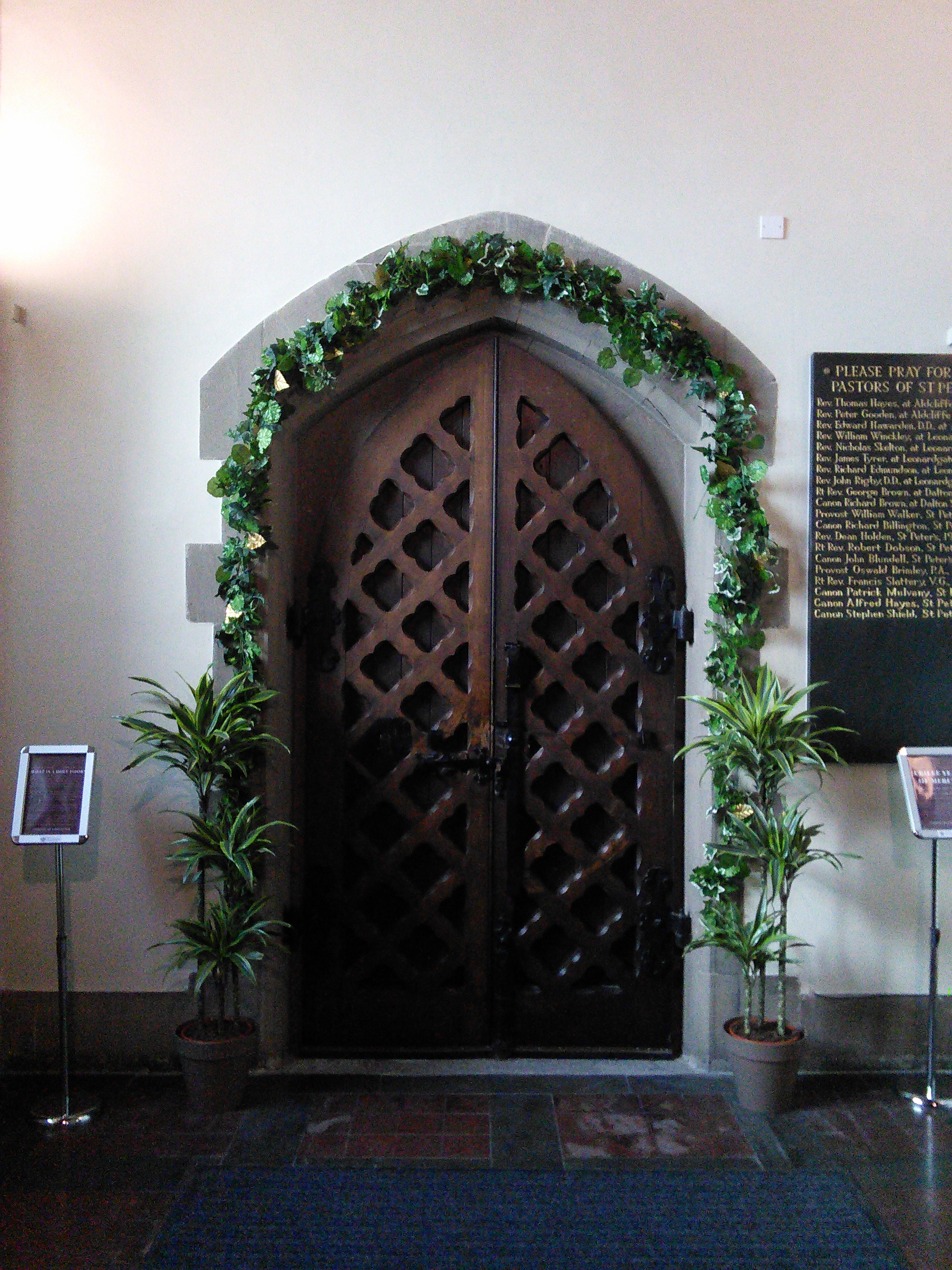 The Holy Door at the Cathedral
