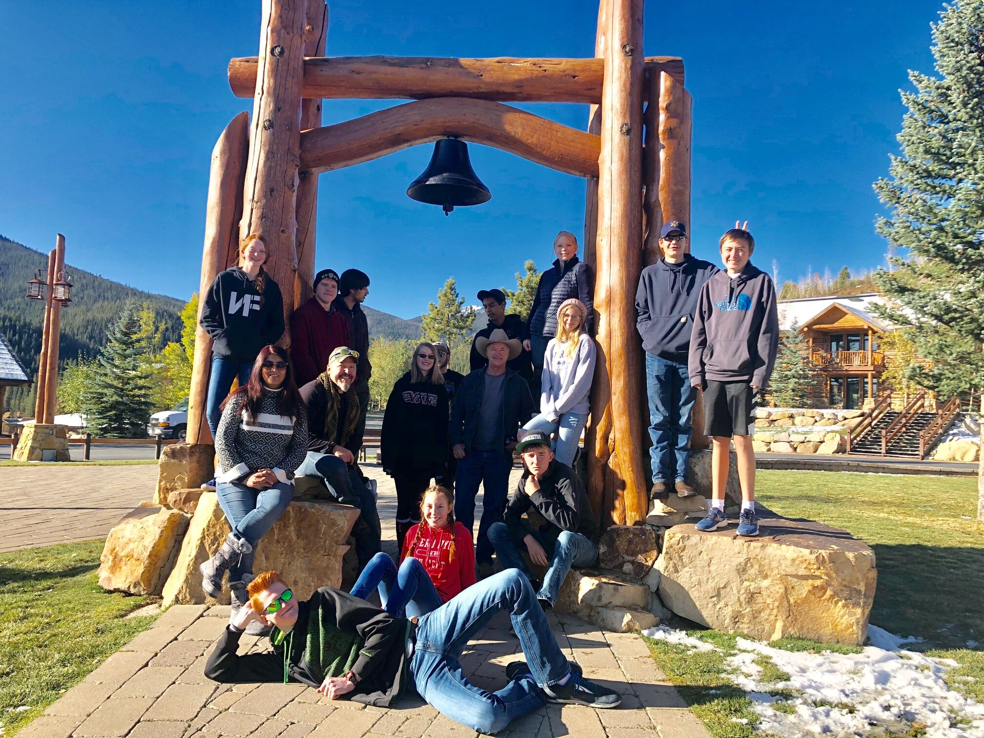 High School Retreat at Crooked Creek Ranch, October 2019