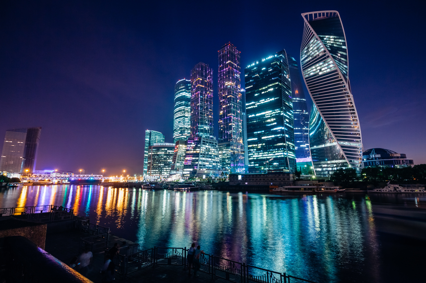 """According to an Australian IT research firm: - """"The Russian telecom market is the largest in Europe, supported by a population of about 143.5 million. The market is dominated by the western regions where the main cities and economic centres are concentrated. All sectors have been liberalised, with competition most prevalent in Moscow and St Petersburg."""""""