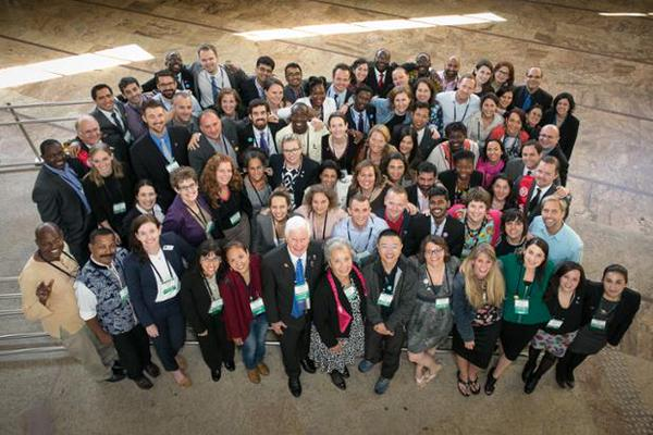 Rotary Peace Fellows at Rotary Peace Symposium, June 2015