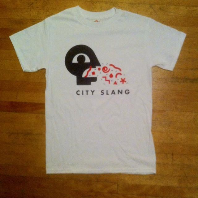 CITY SLANG radio t-shirt
