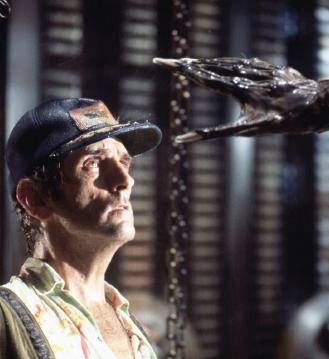 "Harry Dean Stanton in 1979's ""Alien."""