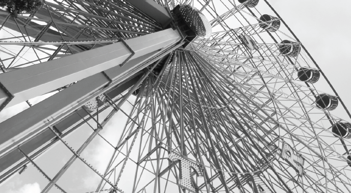 The Texas Star Ferris wheel once again provides the best view of a sprawling fairgrounds.