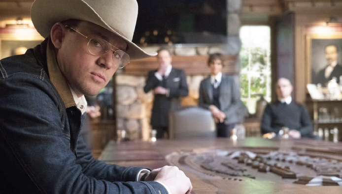 """Channing Tatum (Agent Tequila) in """"Kingsman: The Golden Circle."""""""