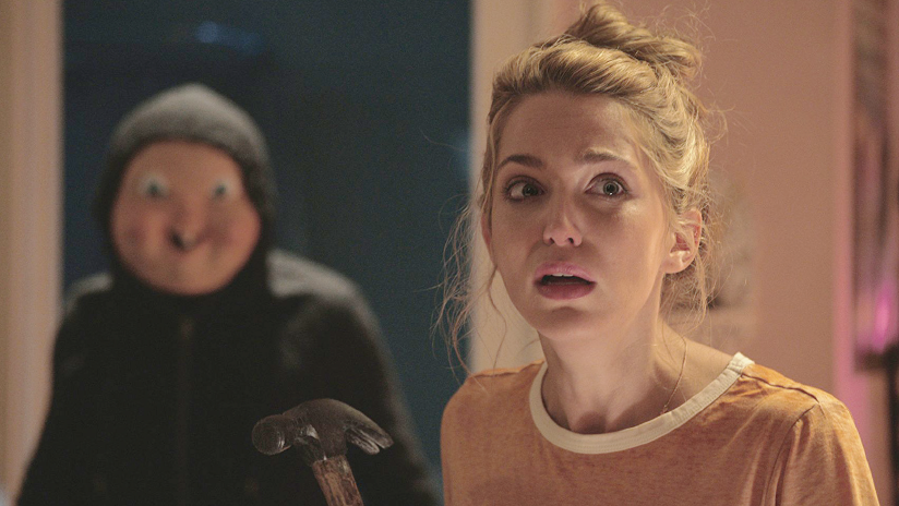 "Tree (Jessica Rothe) is in for a birthday surprise in ""Happy Death Day."""
