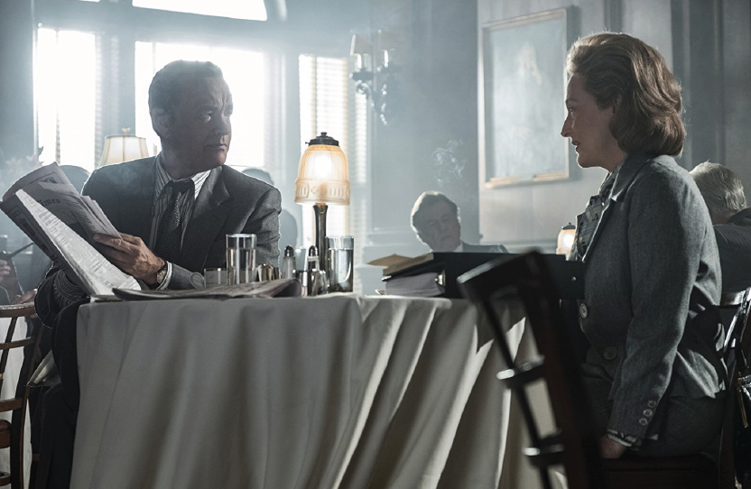 """Tom Hanks and Meryl Streep portray tough journalists in the """"The Post."""""""